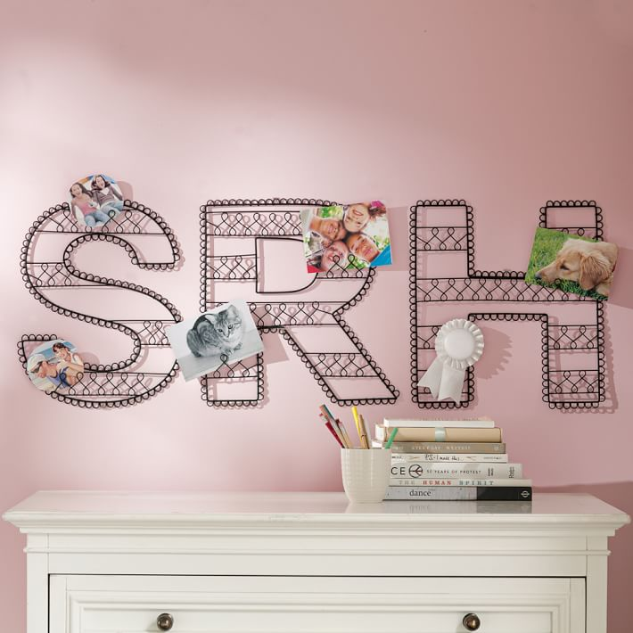 wire wall letters pbteen