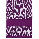 Urban Ikat Bath Towel, Plum