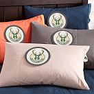 NBA 2014:Milwaukee Bucks Pillowcase, Stone