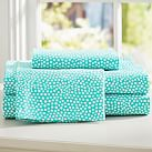 Mini Dot Sheet Set, Twin XL, Pool
