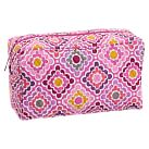Quilted Sleepover Large Tolietry Bag, Ruby Warm