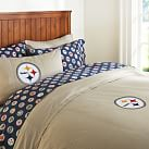 Pittsburgh Steelers Duvet Cover, Full/Queen, Orange