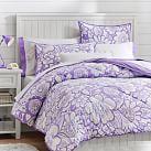 Blooming Garden Superpouf, Twin, Purple