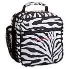 Gear-Up Black Zebra Classic Lunch with Mesh Side Pocket