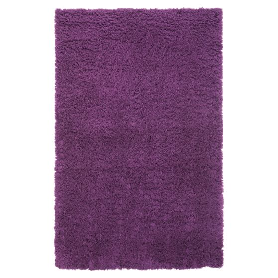 Ultra Plush Rug, 3x5, Dark Plum