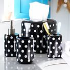 Dottie Bath Accessory, Soap Dispenser, Black Dottie