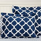 Lucky Clover Reversible, Standard Sham, Royal Navy