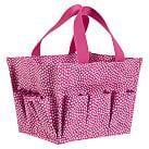 Mini Dot Bath Beauty Bin, Pink