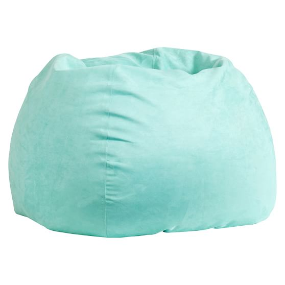 Pool Suede Beanbag, Slipcover Only