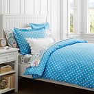 Dottie Duvet Cover, Twin, Blue