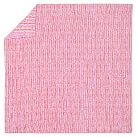 Luau Ruched Duvet Cover, Full/Queen, Pink Multi