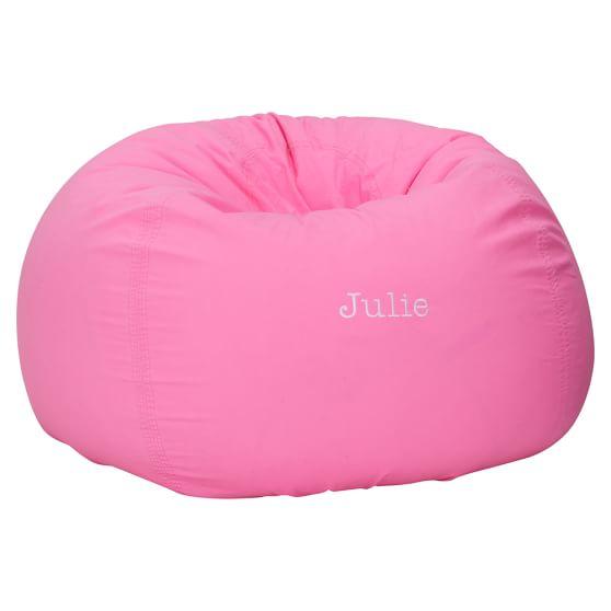 Colorwave Neon Pink Beanbag, Slipcover + Beanbag Insert