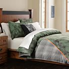 Burton Board Jacket Duvet Cover, Twin, Green Multi