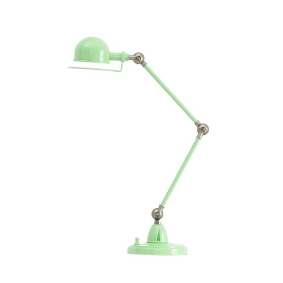 Hi-Light Task Lamp + CFL Bulb, Light Green