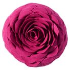 Flora Felt Pillow, Fuchsia