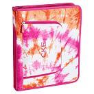 Gear-Up Pink Tie-Dye Homework Holder
