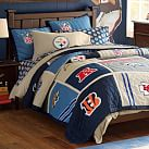 NFL Patchwork Quilt, Full/Queen, AFC