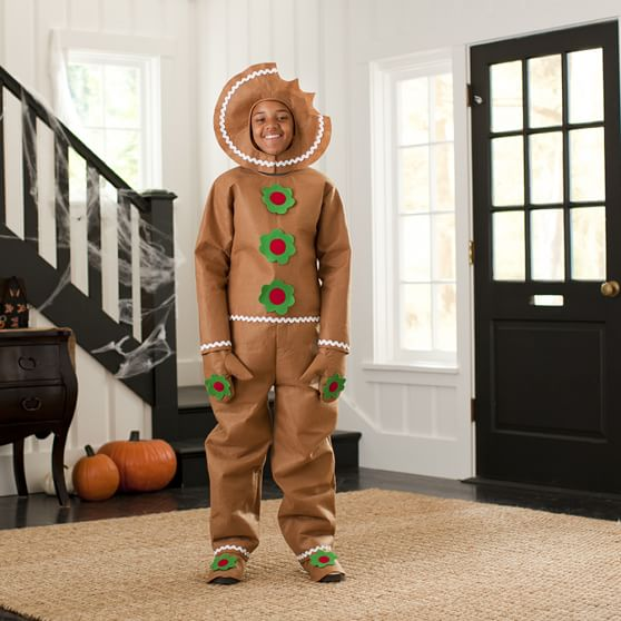 Gingerbread Man Costume, Large