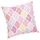 Surf Sessions Decorator Crewel Surf Pillow Cover, Warm