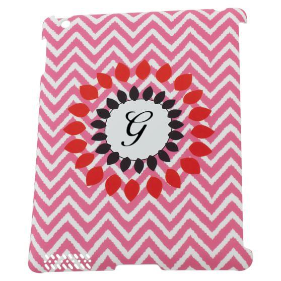 Tablet Cases, Pink Zig Zag