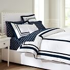 Suite Organic Duvet Cover, Twin, Royal Navy