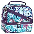 Gear-Up Ceramic Pool Cheebrah Dual Compartment Lunch Bag