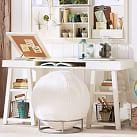 Customize It Project Desk Top + Trestle Legs, Tuscan