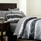 Reef Tie Dye Surf Duvet, Twin, Charcoal Multi