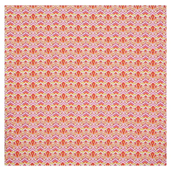 Portofino Duvet Cover, Twin, Pink Multi