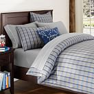 Hamilton Duvet Cover, Twin, Gray Multi