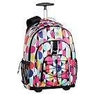 Gear-Up Graphic Multi Dots Rolling Backpack