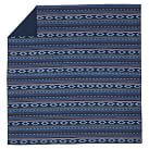 Surf Stripe Duvet Cover, Twin, Navy Multi