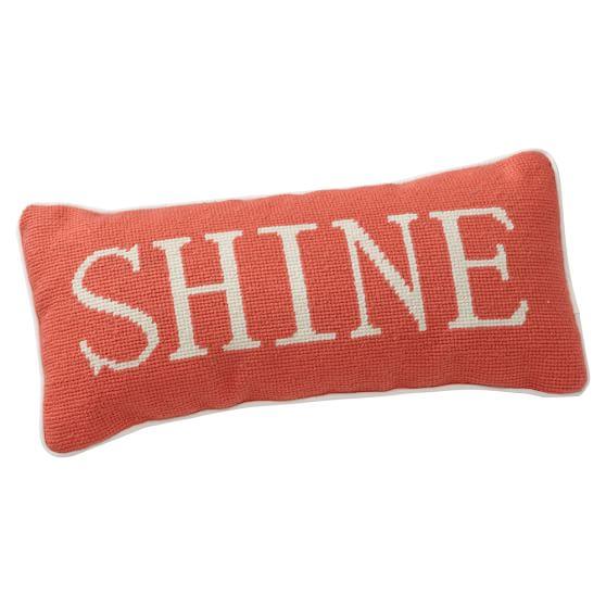 Shine Pillow, Orange