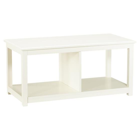 Cushy Lounge Table, White