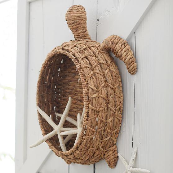 Wicker Turtle Basket