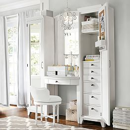 bedroom vanities  vanity sets  pbteen, Bedroom decor