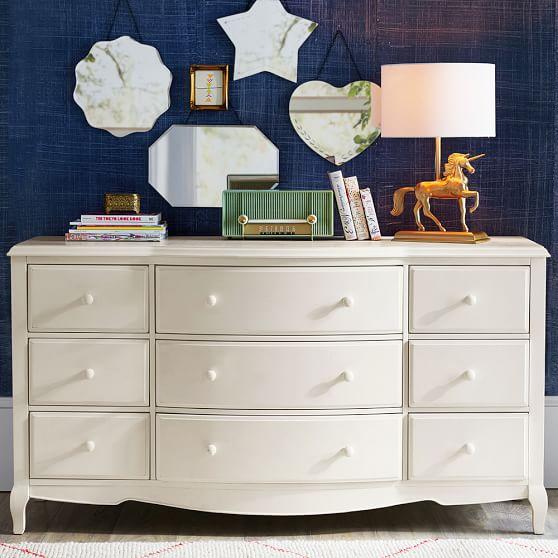 Lilac 9-Drawer Dresser