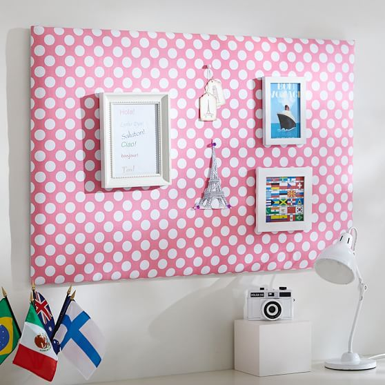 Cute pin board
