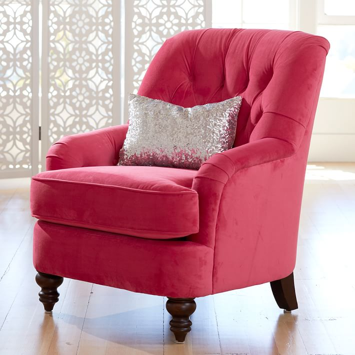 . Girls Bedroom Chair   PBteen
