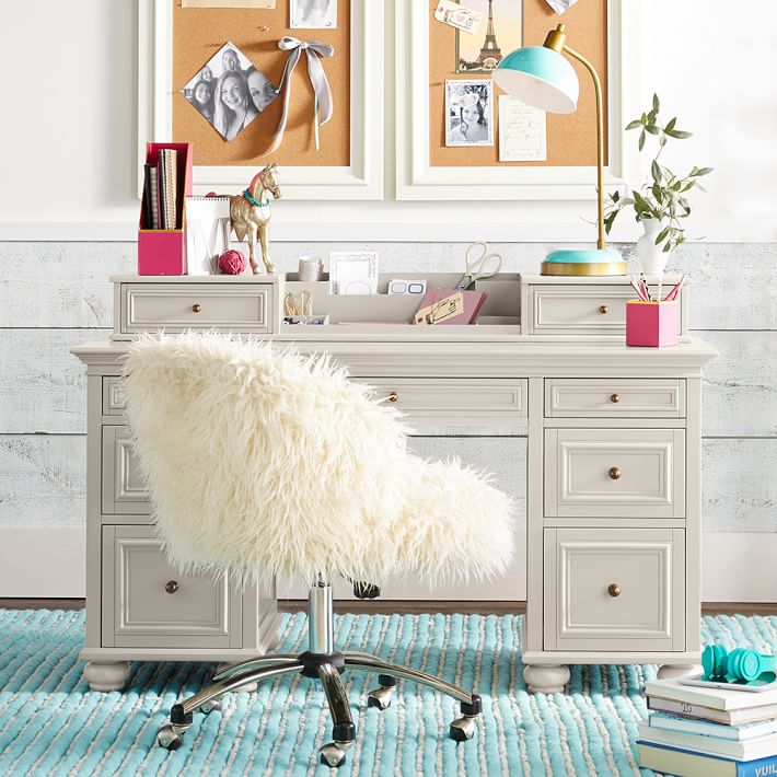White Kids Desk With Hutch Stunning An Error Occurred