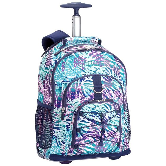 Gear-Up Cool Cheebrah Rolling Backpack | PBteen